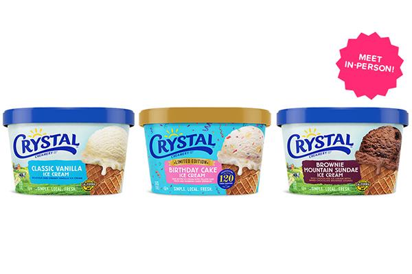 Free Crystal Creamery Ice Cream