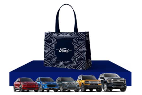 Free Ford Tote Bag