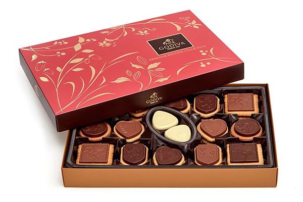Free GODIVA Chocolate Box