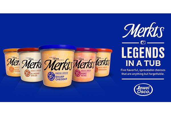 Free Merkts Cheddar Spreadable Cheese