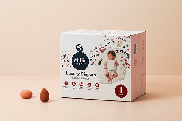 Free Millie Moon Diapers