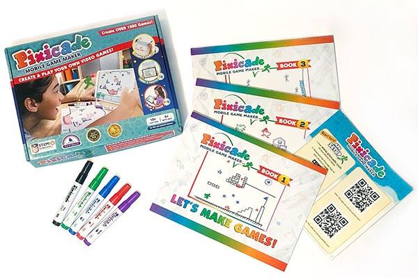 Free Pixicade Game Set
