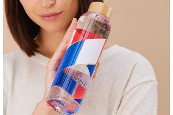 Free France Waterdrop® Bottle