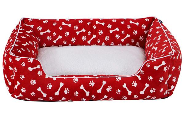 Free Christmas Dog Basket