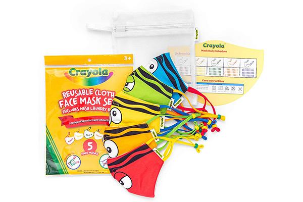 Free Crayola Kids Face Mask