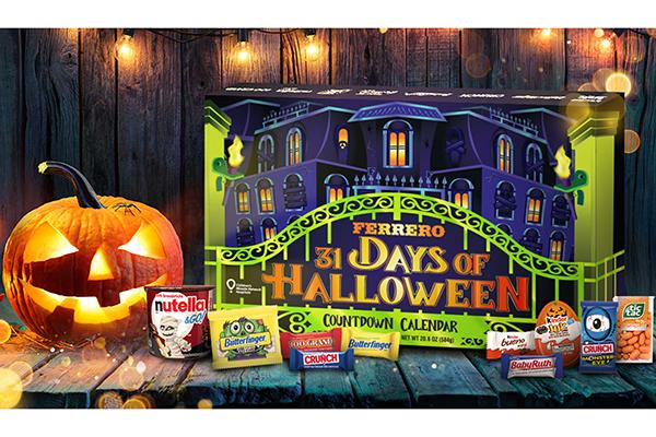 Free Ferrero Halloween Calendar