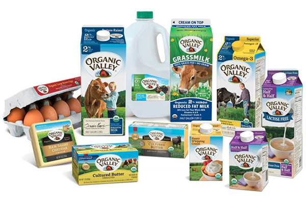 Free Organic Valley Food Box