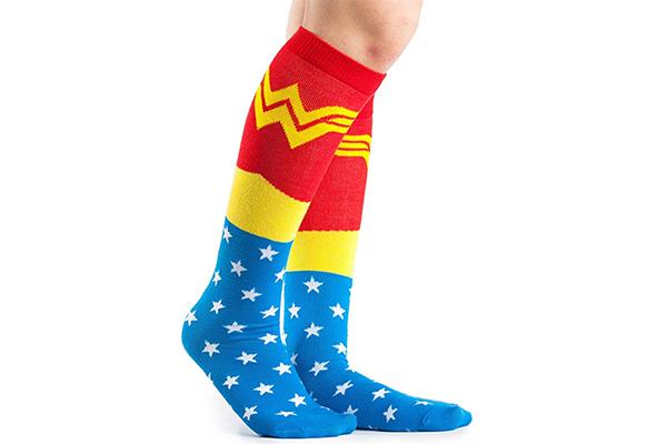 Free Wonder Woman Socks