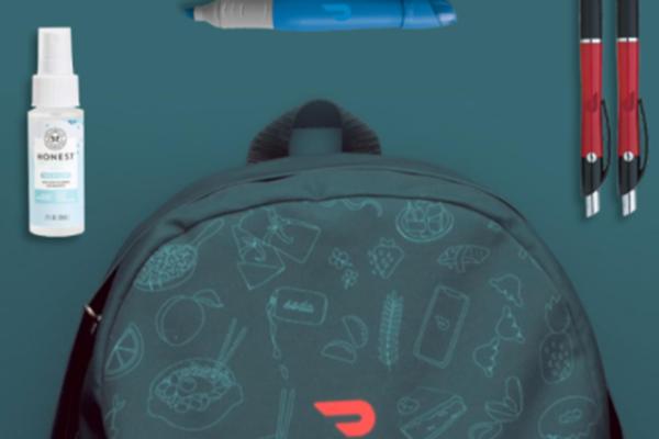 Free Doordash Backpack Set