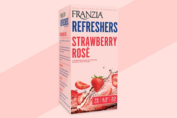 Free Franzia Refreshers Wine