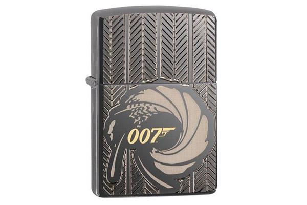 Free James Bond Zippo