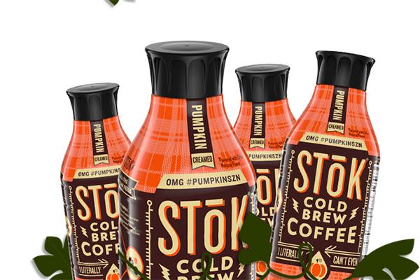Free STōK Pumpkin Cold Brew