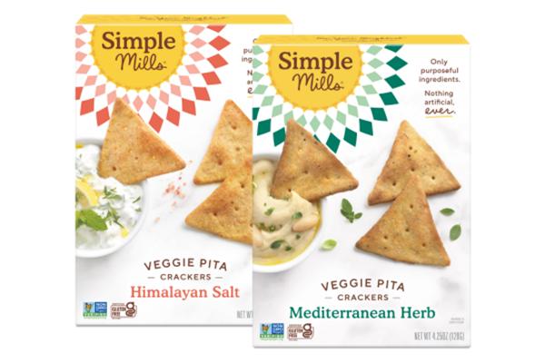 Free Simple Mills Pita Crackers