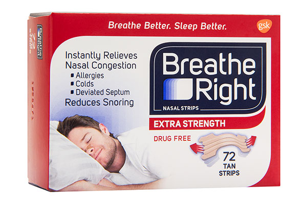 Free Extra Strength Breathe Right® Strips