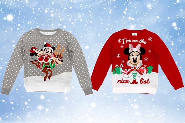 Free Disney Christmas Jumper