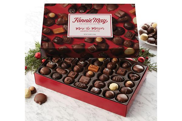 Free Fannie May Chocolate Box