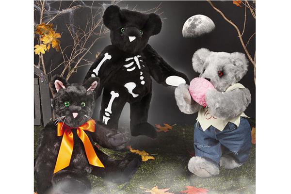 Free Halloween Teddy Bear