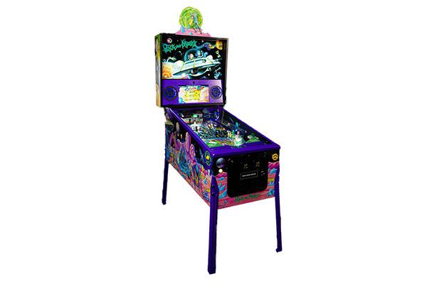 Free Rick and Morty Pinball Machine