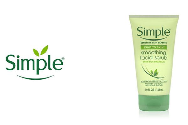 Free Simple Face Scrub