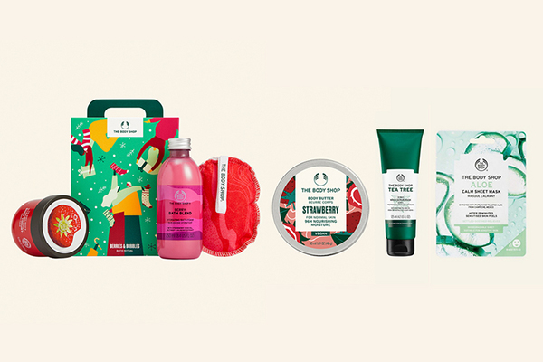 Free Body Shop Gift Set