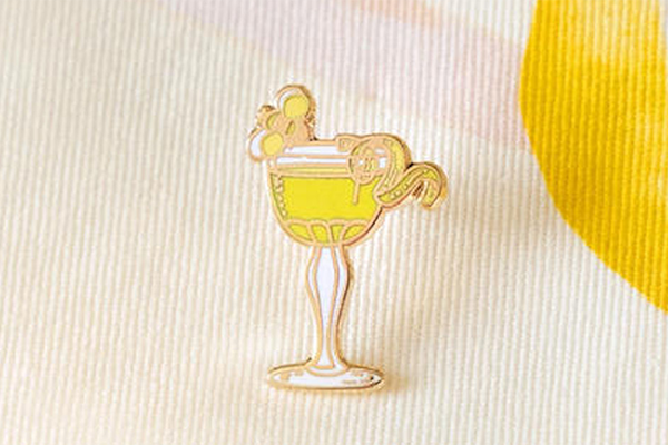 Free Pomp & Whimsy Cocktail Pin